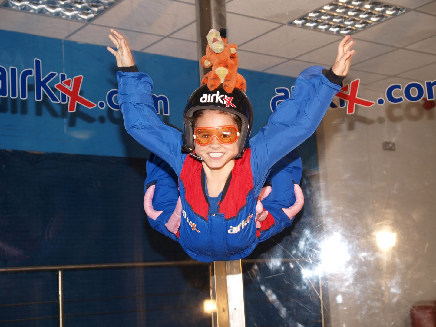 Indoor Skydiving: Teaching BB to fly with Airkix