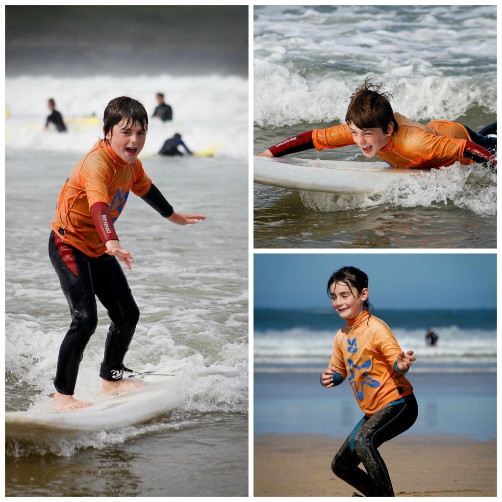 Crantock Surf school