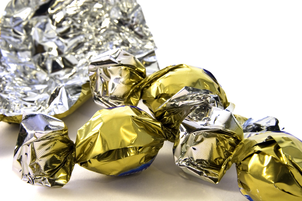 Foil Wrapped Chocolates