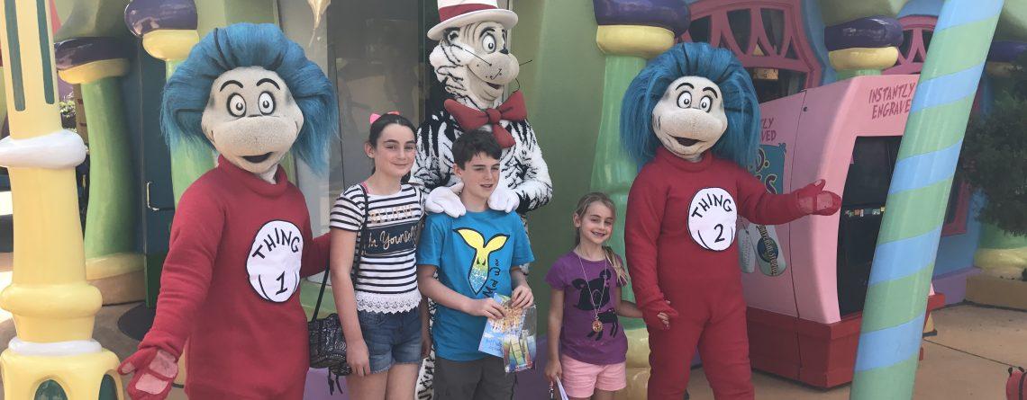 Universal Studios: Facing the fear