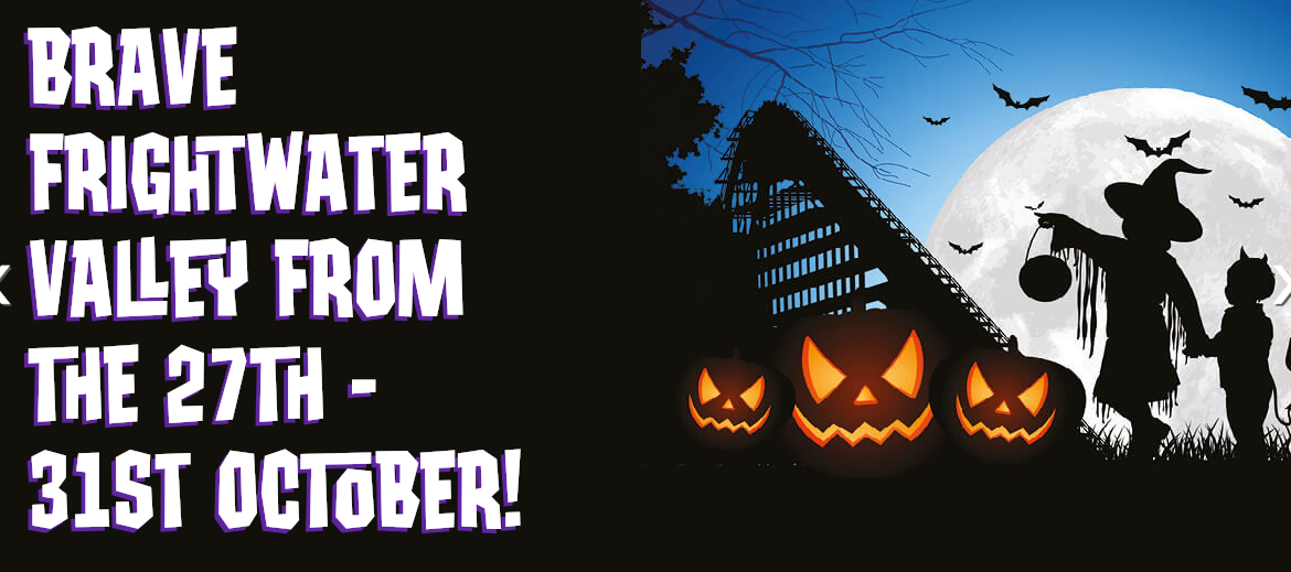 Half term frights at Lightwater Valley
