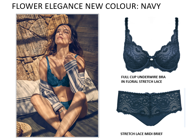 Flower Elegance Bras: perfection from Playtex