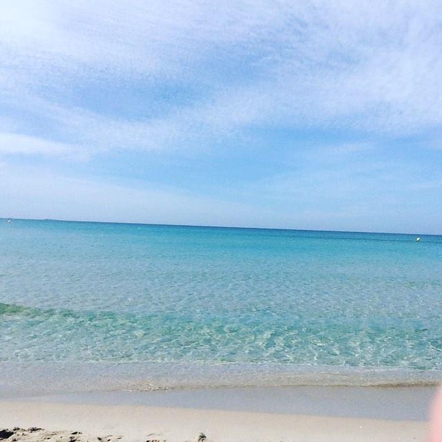 La Manga Beach (no buckets and spades in sight)