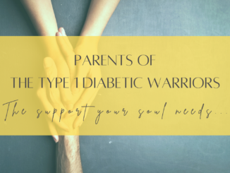 A day in the life of a Parent to a Type 1 Child